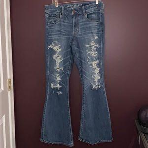 AE Boho Artist Flare Jeans